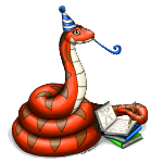 Party Safari Snake Logo